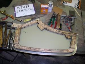 Re-skinning a Door
