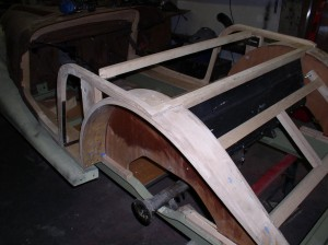 Making Morgan Wheel Arches