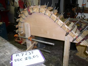 Making Morgan Wheel Arches
